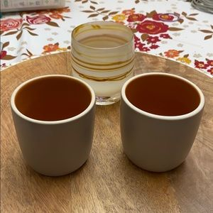2 Heath Ceramics- Small Modern Cups
